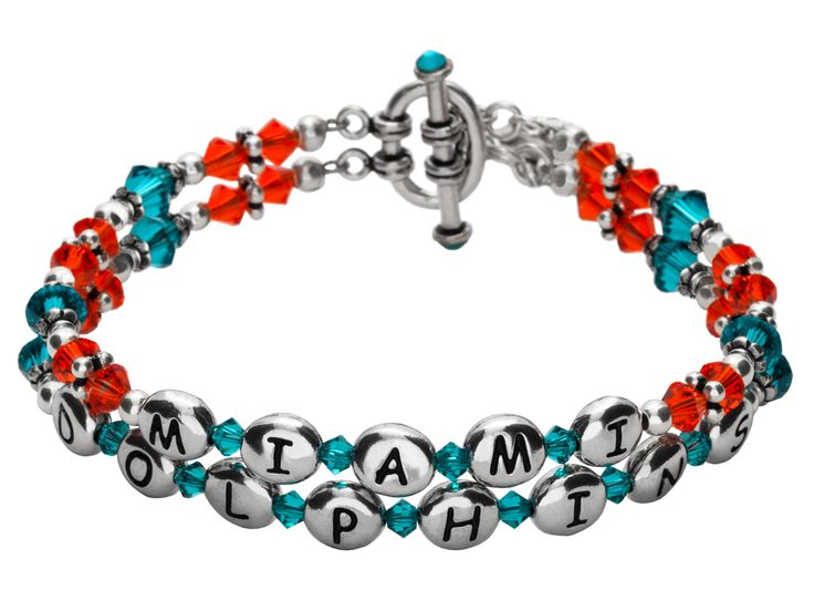 Miami Dolphins Bracelet