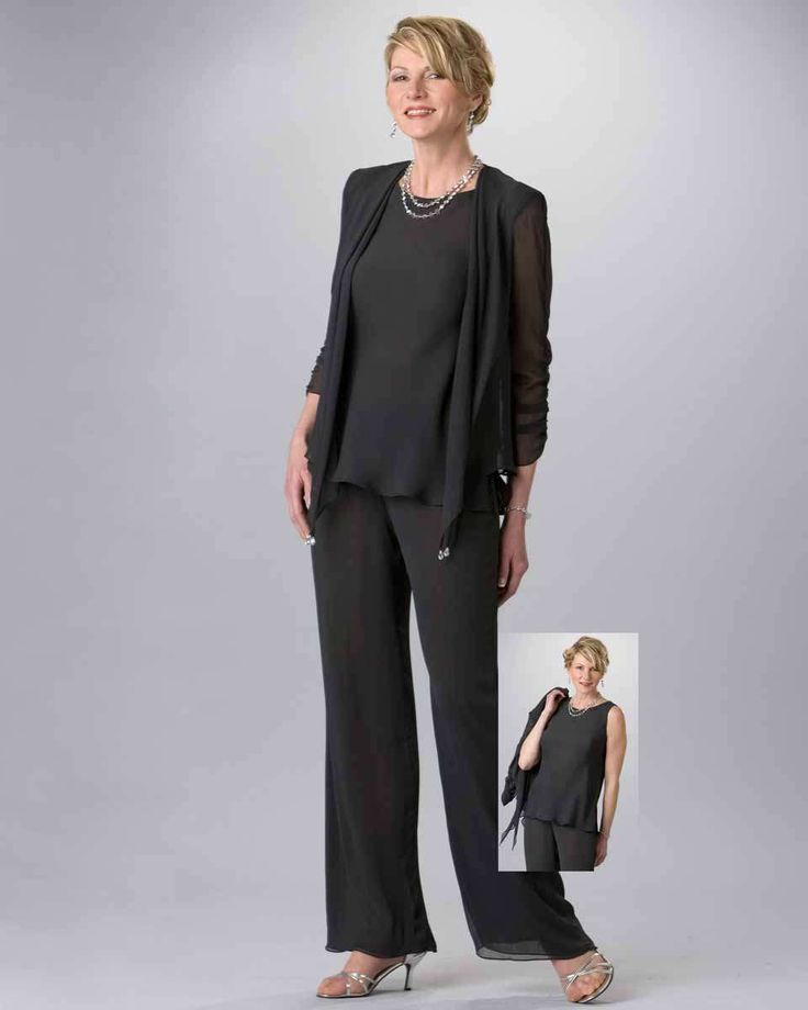 Vintage Wedding Dresses Dallas: Special Occasion Chiffon Pant Suit From StarDust