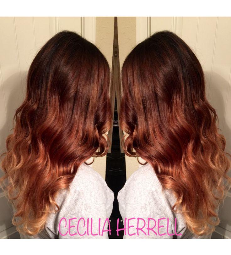 1000 id es sur le th me cheveux brun acajou sur pinterest couleurs pour cheveux bruns cheveux - Couleur brun acajou ...