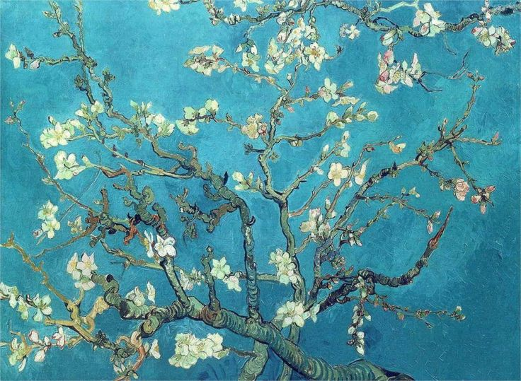 Van Gogh's Almond Blossom Branches (1890)