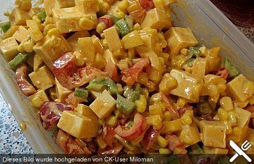 Einfacher Käsesalat mit Gouda und Miracle Whip, ein schönes Rezept aus der Kategorie Snacks und kleine Gerichte. Bewertungen: 11. Durchschnitt: Ø 4,1.