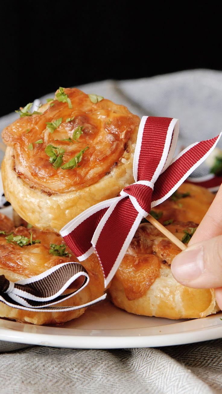 Ham and Cheese Pie Sticks ~ Recipe | Tastemade