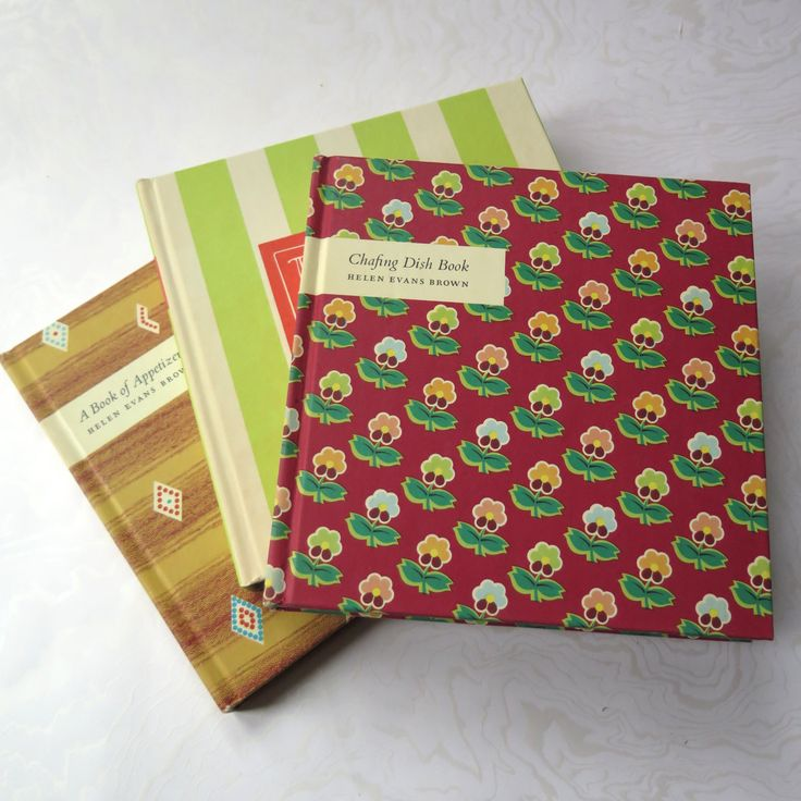 Fifties Cookbooks Hardback Graphic Covers Retro Recipes Patio BBQ Appetizers Chafing Dish Set of Three Mid Century  Helen Evans Brown Author by stonebridgeworks on Etsy