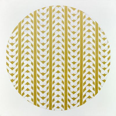 "Fabulous Contemporary Art from New Zealand! Gold Foil Art Print ""Interweave"""
