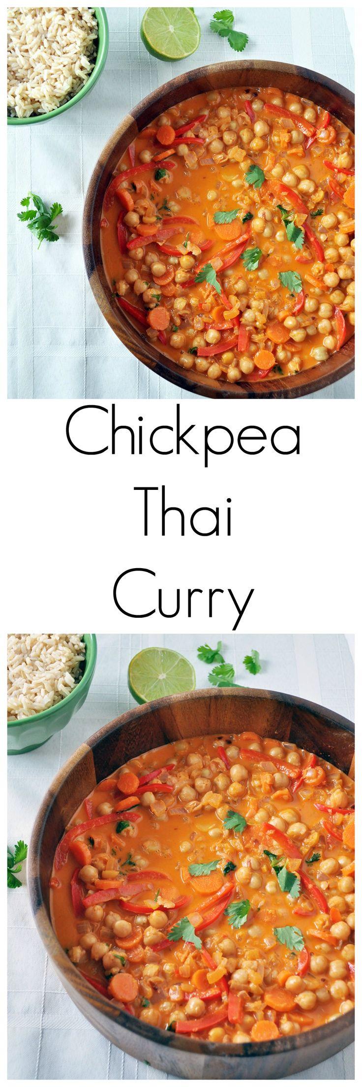 Thai Chickpea Curry