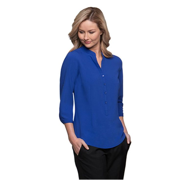 City Collection So Ezy 3/4 Sleeve Shirt – 2263
