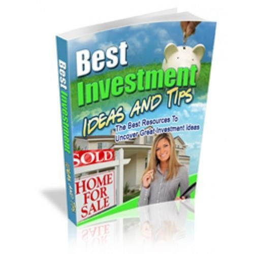 Best Investment Tips    and Ideas    Here is your first sub-headline to amplify the benefits or competitive positioning of your offer