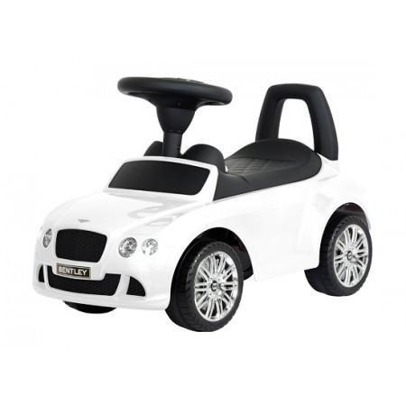 Bentley Push Car White - MyTinyWheels.com