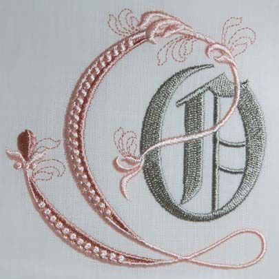 Fleur de Lis Alphabet- O: Sonia Showalter: