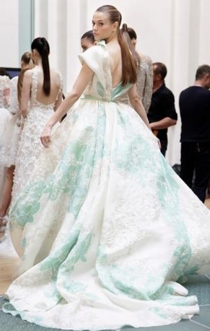 imgend: Wedding Dressses, Eliesaab, Fashion, Ball Gowns, Aqua Blue, Ellie Will Be, Dresses, Elie Saab Couture, Haute Couture