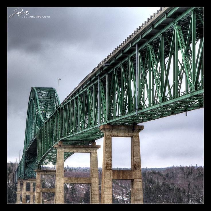 Seal Island Bridge, Cape Breton, Nova Scotia