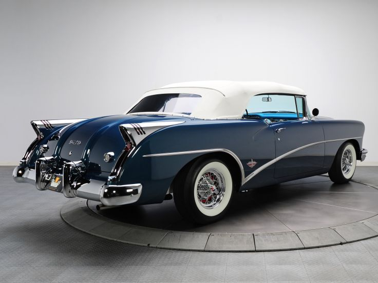 1954 Buick Skylark 4667sx Convertible Retro Db Wallpaper