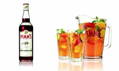 Pimms & Lemonade - the taste of summer.