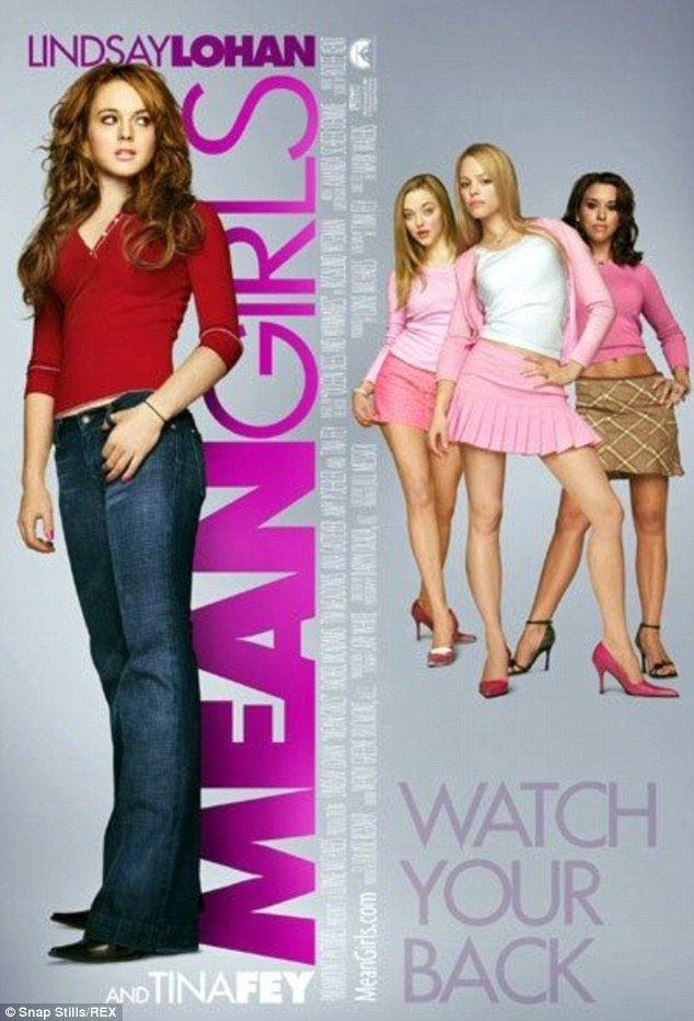 Cult favorito: Los 2004 flick Mean Girls protagonizó Lindsay Lohan, Rachel McAdams, Amanda...