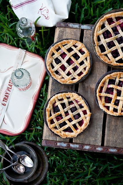 Mixed Berry Pie by tartelette,with GF flaky crust (sub vegetable shortening for butter)