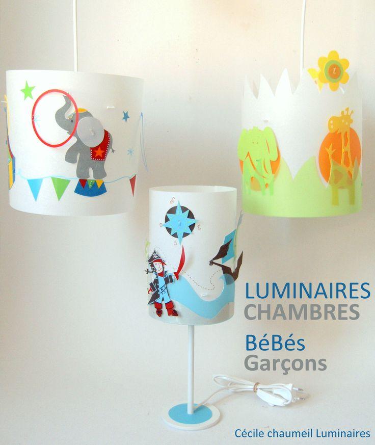 11 best images about tableaux et luminaires pour enfants - Lustre chambre bebe fille ...
