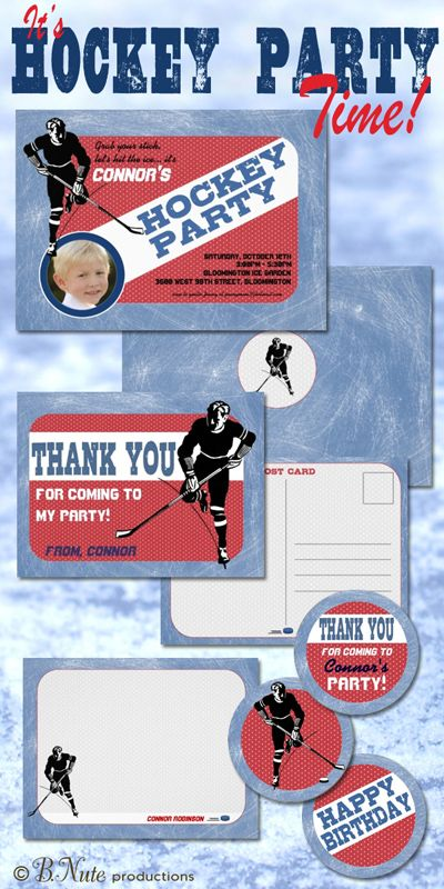 19 best Darling Hockey Party images on Pinterest