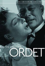 Wasn't able to pay too much attention to details, but it's still a Dreyer classic.
