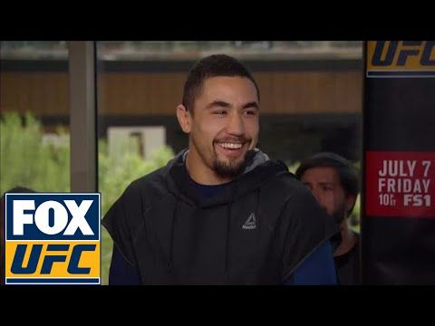 Robert Whittaker previews his UFC 213 fight with Yoel Romero | UFC TONIGHT - YouTube