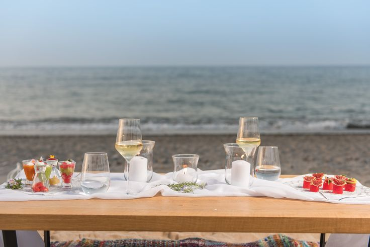 Gastronomic delights with amazing beach scenery..