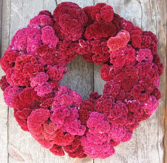 """18"""" Wreath with carnations"""