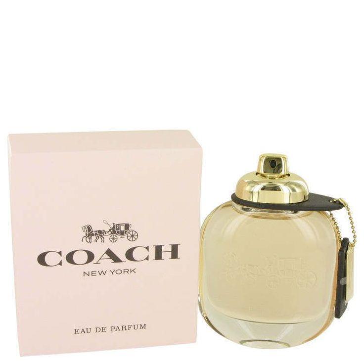 COACH NEW YORK Perfume By Coach 3.0 oz Eau De Parfum Spray for Women NEW IN BOX #COACH ***** More Info: www.dutyfreedepot.com/brandlist.aspx?brandsection=10&Intern=1opranda&bn=0