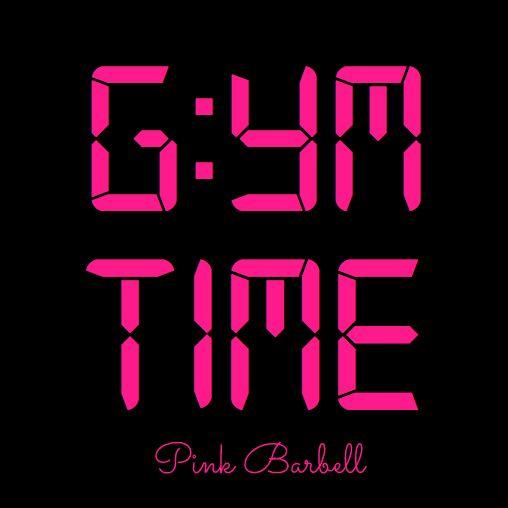 Qué hora es ? Gym Time!                                                                                                                                                                                 More