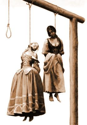 Gallows Hill- List of Women Hanged in Salem Massachusetts