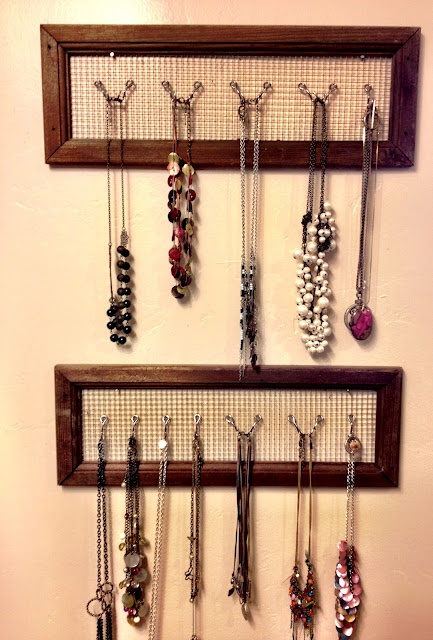 more jewelry storage ideas