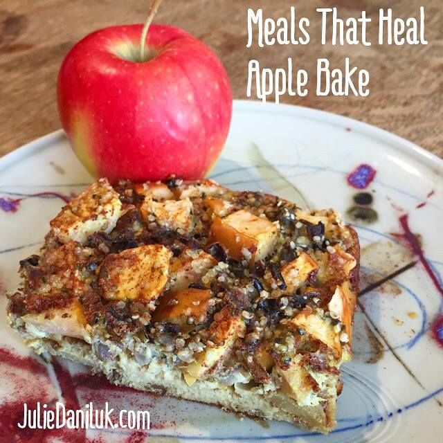 Hemp Apple Bake by JulieDaniluk.com