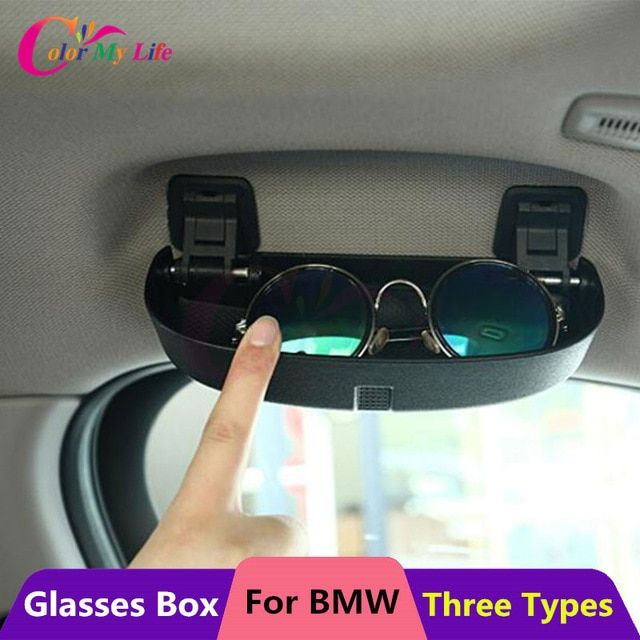 3d75659c0658 Color My Life Car Glasses Case Box for BMW 1 2 3 5 Series E90 E91 F30 F31  F34 320 328 F07 F10 F11 F48 520 528 X1 X3 X5 Parts Review