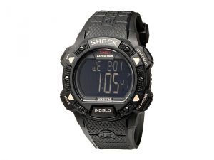 Timex EXPEDITION Shock Chrono Alarm Timer Watch (Black) Sport Watches