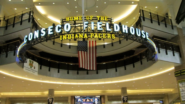 Bankers Life Fieldhouse. Indianapolis, IN