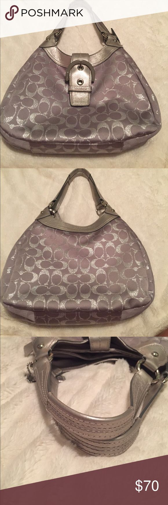 Coach hobo bag Barely used practically brand new! Authentic! Got it as a gift, and haven't really used it. Coach Bags Hobos