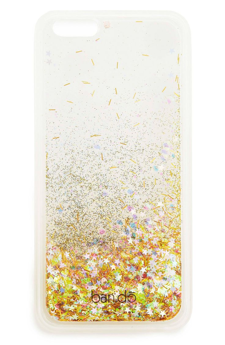 Who doesn't want a sea of sparkling, floating glitter protecting their iPhone?