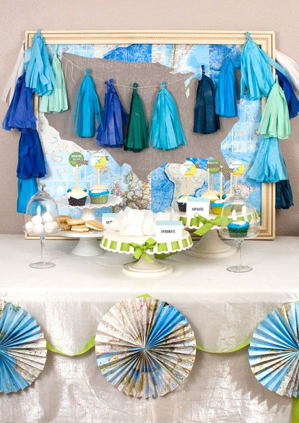 about adventure travel baby shower on pinterest airplane baby shower