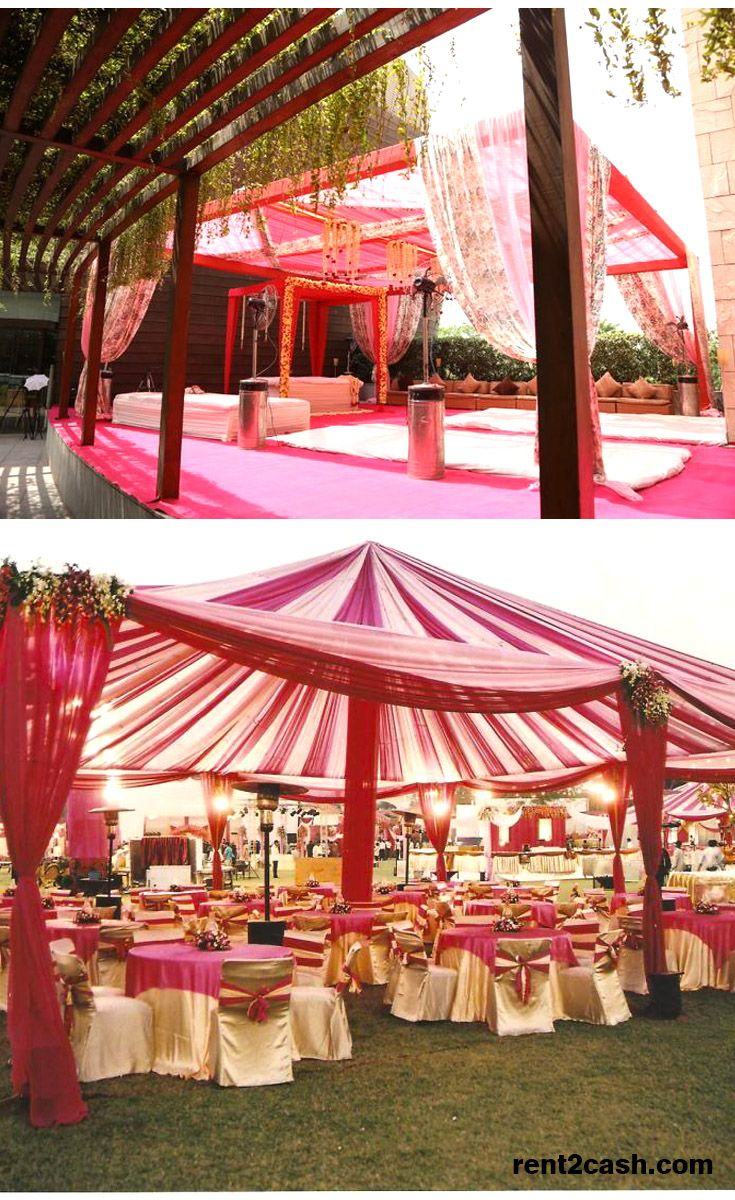 Decorating a venue for a wedding is very important to entertain the guests  & to give