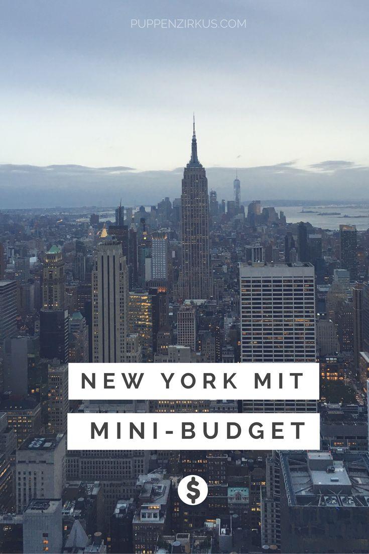 Ein günstiger Urlaub in New York? Schwierig - aber möglich! Ich verrate euch 10 Tipps für eine New York Reise mit Mini-Budget.
