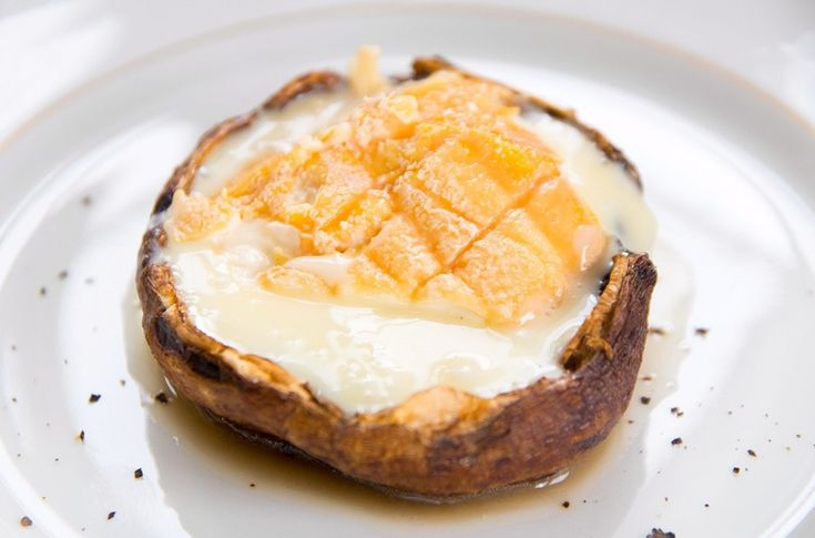 Who could resist this melted Epoisses?