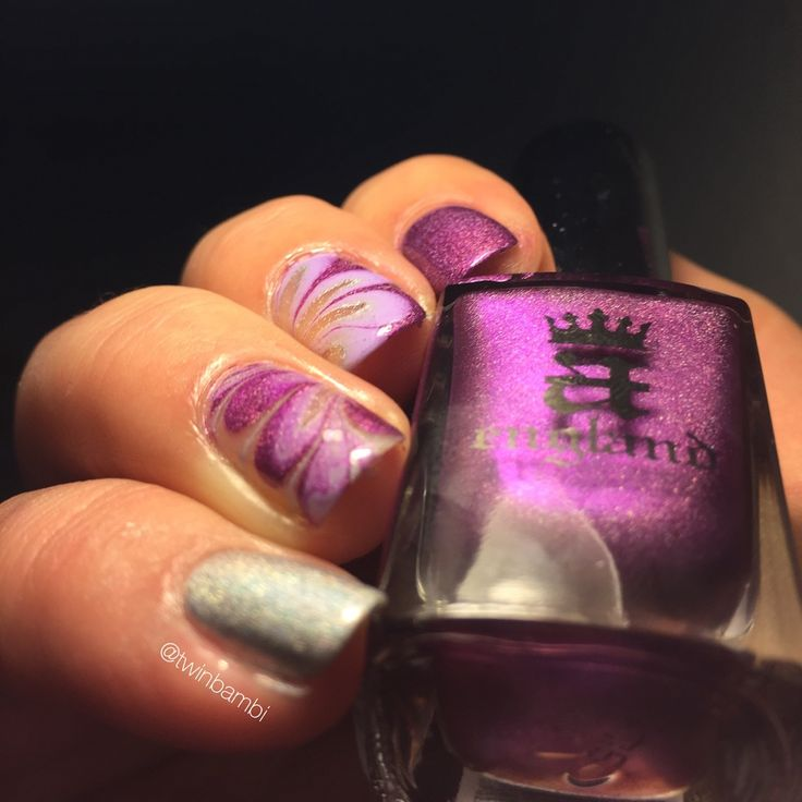A England Crown Of Thistles and Encore Margot and @appeal4 Rose Clear Polishes are from www.luxbeauty.dk