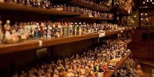 Pastori fatti a mano realizzato dai maestri napoletani