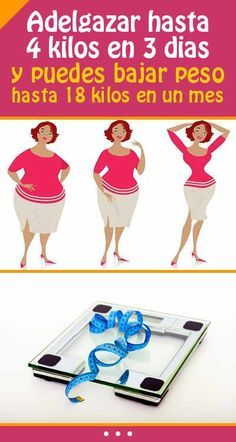 Dieta de los 3 dias adelgazar hasta 4 kilos en 3 dias y puedes bajar peso hasta 18 kilos en un - Adelgazar 20 kilos en 4 meses ...