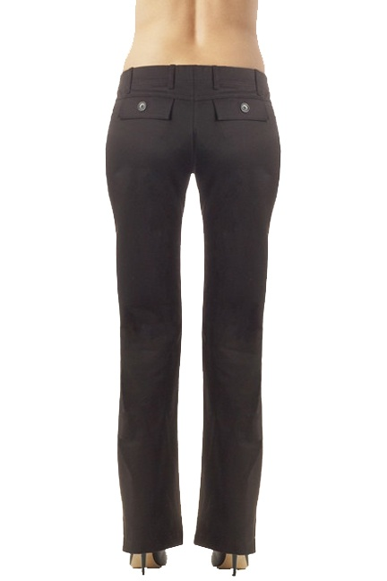 Seraphine Petra Sateen Finish Maternity Straight Leg Trousers | Maternity Clothes  Available at Due Maternity www.duematernity.com