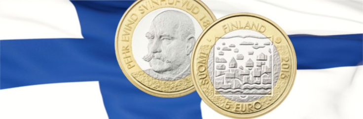 Presidents of Finland Series Continues with 3rd Coin