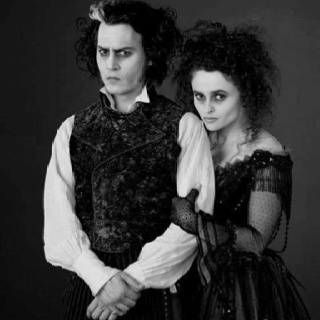 Sweeney Todd <3 Tonight I discovered my love for this movie. Perfectly disturbingly brilliant.