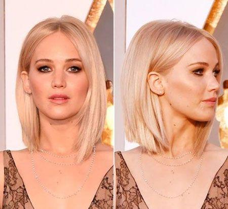 25 Haarschnitte für kurze glatte Haare