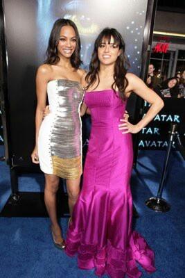 Zoe Zaldana & Michelle Rodriguez
