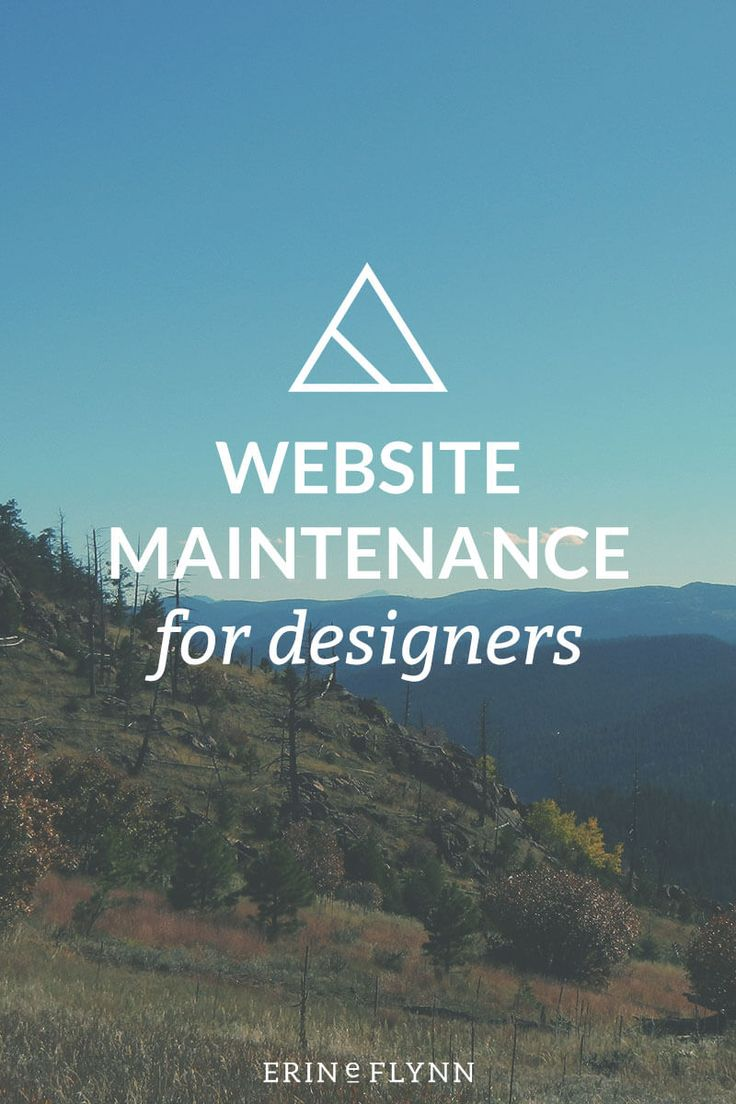 Regardless of whether you wanna offer website maintenance as a service — and even if you wanna hire out your own maintenance to a developer! — there are a few things you should know as a designer, so you can either DIY or make sure your developer is doing her job. Click through to learn about website maintenance for designers!