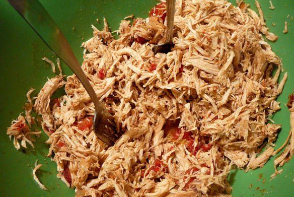 shredded chicken tacos | recipes | Pinterest
