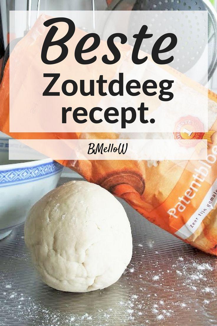 Beste zoutdeeg recept. Na vele zoutdeeg recepten te hebben geprobeerd heb ik de beste voor je gevonden. Maak zelf je klei met een paar simpele keukenspullen. BMelloW